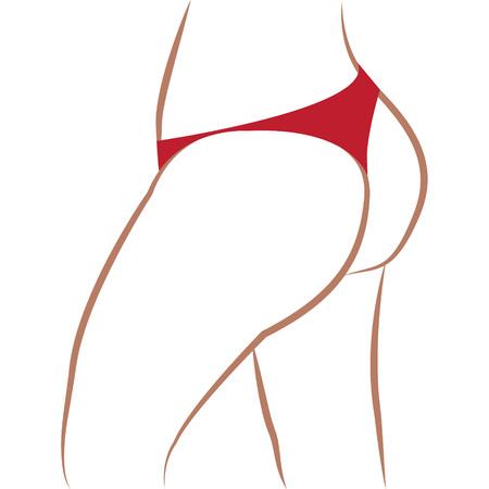 Get  slim but vector illustration