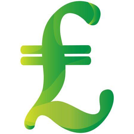 Lire Italian currency symbol icon vector illustration Vettoriali