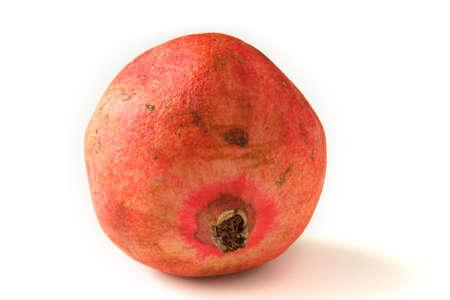 pommegranates: whole pomegranat on white