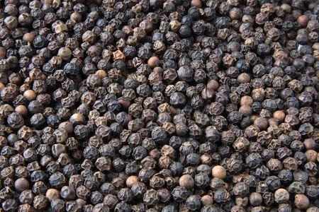pimienta negra: Todo el negro pimienta close-up de fondo