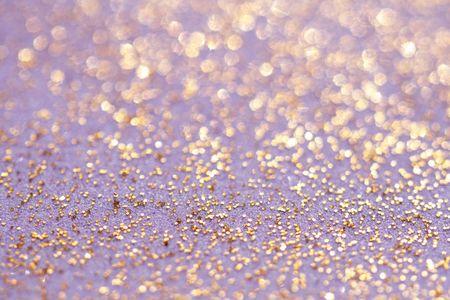 golden glitter sparkles dust background, shallow DOF Stock Photo - 3706580