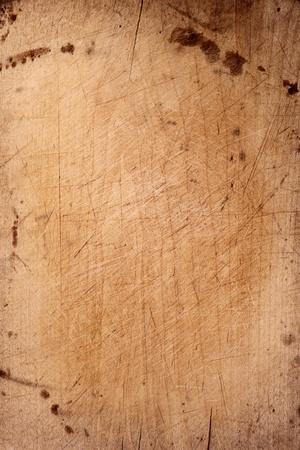 まな板: 古いチョッピング ボード木製背景