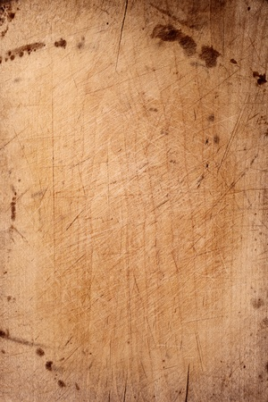 old chopping board wooden backdrop Stockfoto