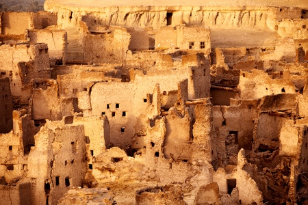 place of interest: Schali ( Shali ) the old Town of Siwa on sunrise