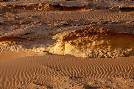 desierto del sahara: el gran desierto del Sáhara, cerca de Siwa, al oeste de Egipto