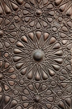 mohammed: door ornament  in Madrasa, Dome of Al-Nassir Mohammed Ibn Qalawan