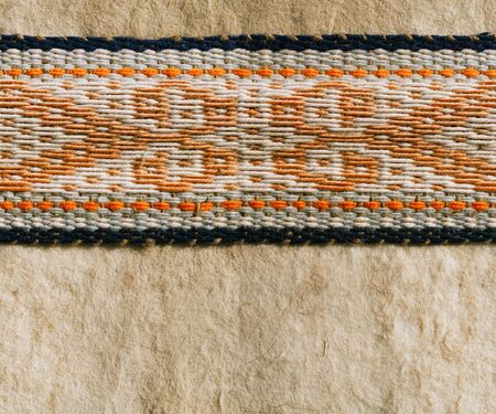 nomad: nomad yurt detail - thick felt background and rope, seamless background