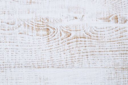 painted lines: weathered cracked white painted wood background Stock Photo
