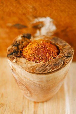 spices BBQ Rub mix of Herbs, shallow dof Stock Photo - 18546775