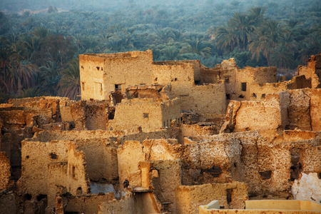 Schali ( Shali ) the old Town of Siwa on sunrise photo