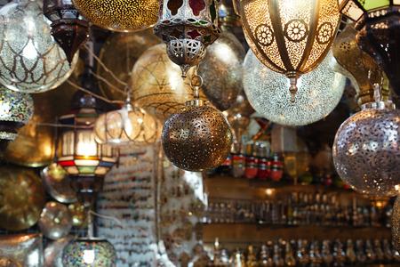lanterns in morocco marruecos vidrio y lmparas de metal lmparas zoco de marrakech foto de