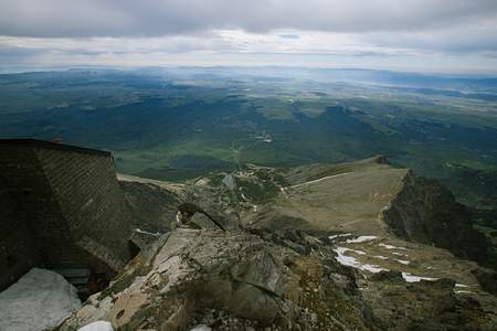 metres: Lomnica Peak  is one of the highest and most visited mountain peaks in the High Tatras mountains of Slovakia