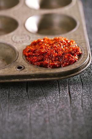 Extreme hot asian chillies garlic paste sauce - Laza or Lazdzhan