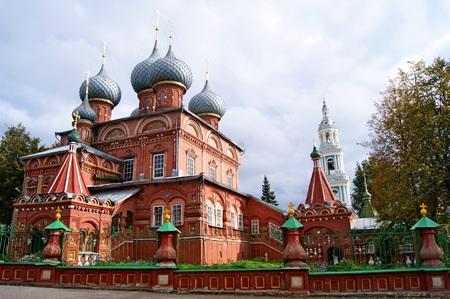 kostroma: Znamensky Monastery in Kostroma Stock Photo