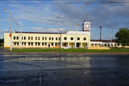 railway station: Railway station in Kostroma