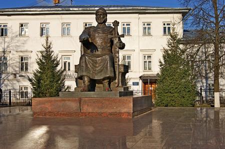 kostroma: Monument to Yuri Dolgoruky in Kostroma