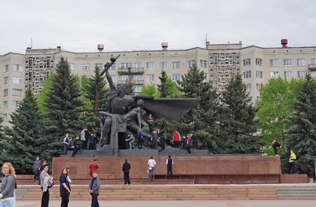 kostroma: Monument Kostroma wars, veterans of the Great Patriotic War Editorial