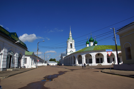 in the ranks: Kostroma, Church of Our Saviour in the ranks
