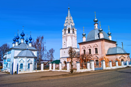 kostroma: Galich, the temple complex in the fishing settlement