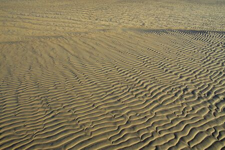 striping: Sand abstraction Stock Photo