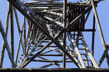 triangulation: Triangulation tower.
