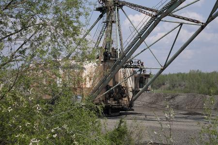 gold mining: Gold mining in Kolyma.