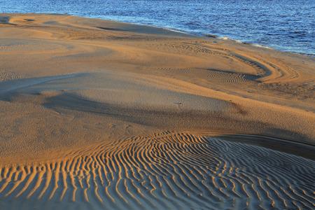 lena: Yakutia, Lena river, sand spit.