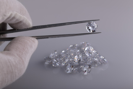 diamond cut: Colorless gemstones