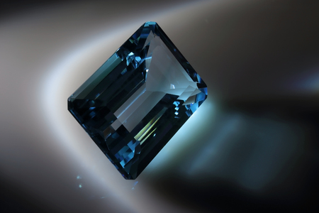 diffraction: Blue Topaz. Sky Topaz.