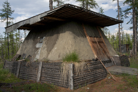 farce: Yakut national housing - balagan.