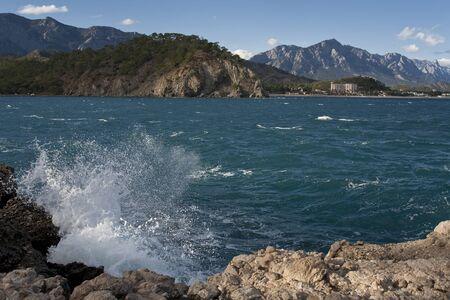 sputter: Turkey. The  Mediterranean Sea.