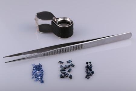 zafiro: Zafiro Natural y herramientas gem�logo.
