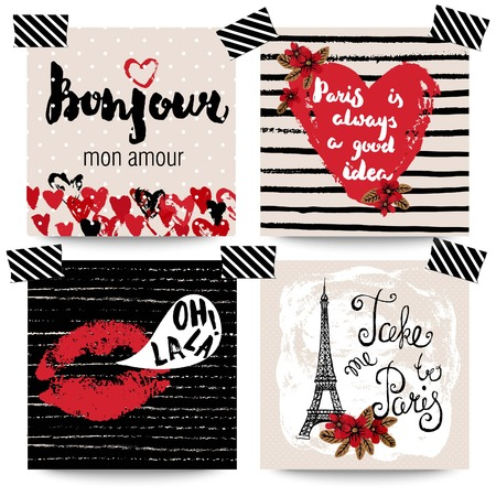romantic getaway: Can be used for cards, invitations, posters, t-shirt prins  and other uses.