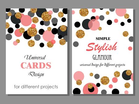 red polka dots: Puede ser utilizado para diferentes regalos, celebración, invitación, tarjetas de cumpleaños, los vales.