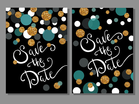 dot pattern: Can be used for different gift, celebration, invitation, birthday cards, vouchers.