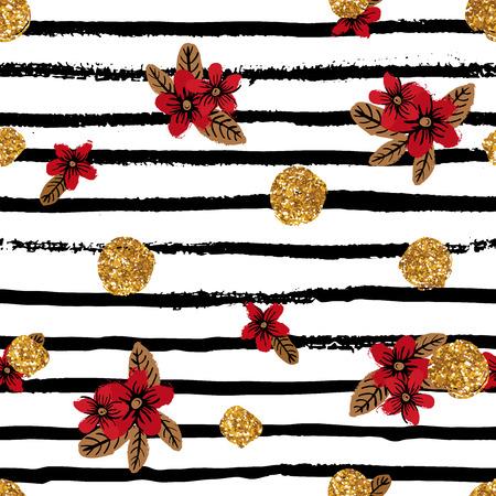 Gebruik dit patroon als eindeloze achtergrond, verpakken cadeau papier.