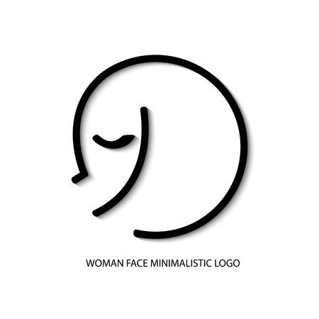 Ilustración para la cosmética, la marca, la clínica de cirugía plástica
