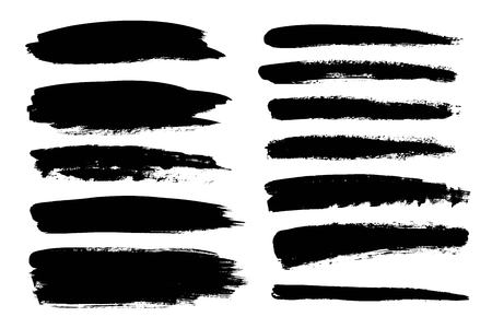 chinese brush: Universal grunge lines for different projects and uses.
