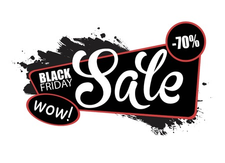 UNIVERSAL SALE BANNER, PLACE FOR TEXT, BLACK HAND DRAWN TEXTURE.