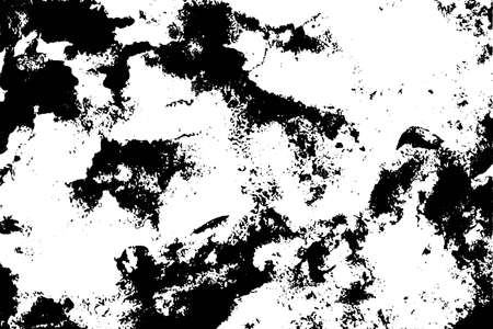Grunge black and white texture. Overlay. Noisy, dirty abstract background. Vector old, vintage, monochrome backdrop.