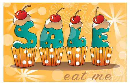 tasty: Tasty design for shopping and sale banner.