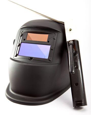 Masque de protection du soudeur Banque d'images - 89190207