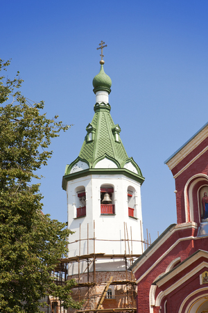 Old Ladoga Nikolsky monastery , presumably 13th century. Russia.