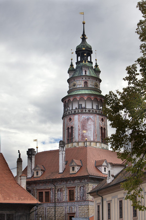 Cesky Krumlov. Czech Republic. 版權商用圖片