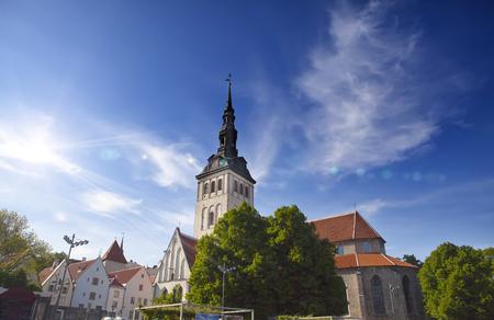 Niguliste- St. Nicholas Church in Tallinn, Estonia