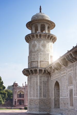 Itmad Ud Daulah Tomb (Baby Taj), XVII century. Agra, India Stock fotó