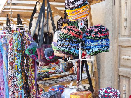 traditional Uzbek souvenir handwork, Khiva, Uzbekistan Stock fotó