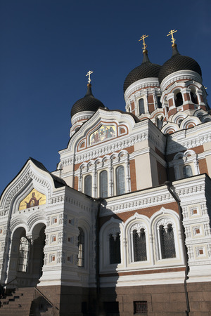 Alexander Nevsky Cathedral - Orthodox church in Tallinn, Estonia