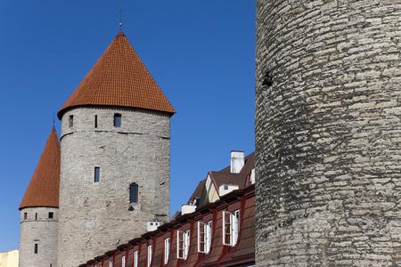 Tallinn. Estonia. Medieval tower of a fortification