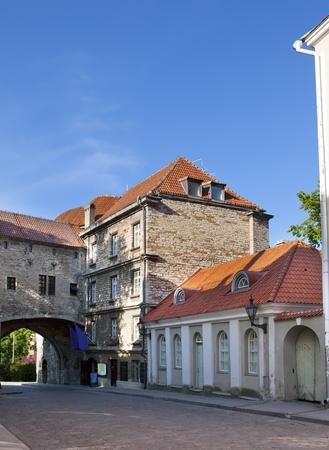 Big Sea gate - one of passes in a fortification. Tallinn. Estonia. Stock fotó